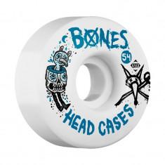 Set 4 roti skateboard Bones STF Head Case 54mm