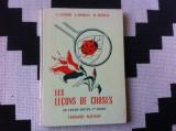 les lecons de choses carte exercitii manual in limba franceza 1957 ilustratii