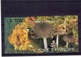 Sao Tome - 1993 ciuperci stampilata, Natura, Stampilat