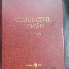 Codul civil roman adnotat