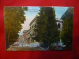 Ilustrata Baile Herculane - Hotel Ferdinand , anii '20 ,color, Circulata, Printata