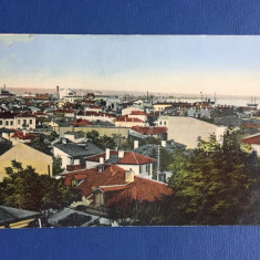 Galati - Vedere Generala - Carte Postala Muntenia 1904-1918, Circulata, Fotografie