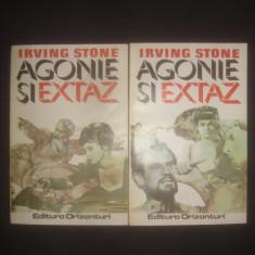 IRVING STONE - AGONIE SI EXTAZ 2 volume - Roman, Anul publicarii: 1993