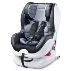 Scaun Auto Defender + Isofix 0-18 Kg Grey - Scaun auto copii grupa 0-1 (0-18 kg) Caretero