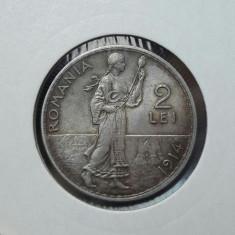 2 lei 1914 piesa de colectie - Moneda Romania