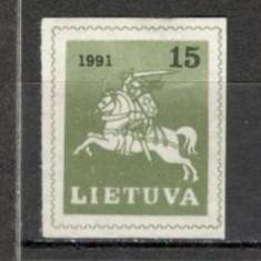 Lituania.1991 Calaretul lituanian KX.261 - Timbre straine, Nestampilat