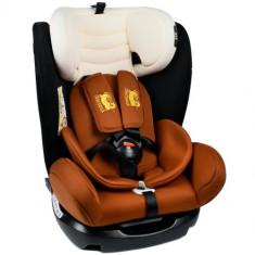 Scaun Auto cu Isofix Mandara 0-36 kg Coffee - Scaun auto copii, 0-1-2 (0-25 kg)