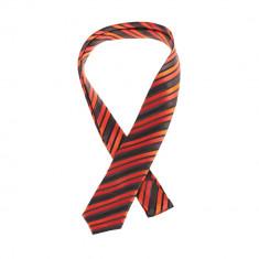 Cravata rosie barbati slim