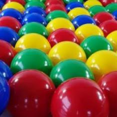 Set 100 bile colorate - 7cm