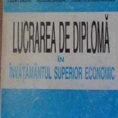 Lucrarea De Diploma In Invatamantul Superior Economic - Cezar Basno, Nicolae Dardac, Horatiu Dragomirescu, 394989 - Carte Marketing