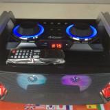 SISTEM KARAOKE ULTIMA GENERATIE, BOXA ACTIVA, MIXER, MP3 USB, BLUETOOTH+2 MICROFOANE - Echipament karaoke