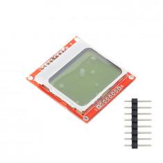 Ecran Display LCD Nokia 5110 84x84 White Backlight Alb Arduino