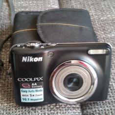 Vand Aparat foto digital Nikon Coolpix L23, Negru - Aparat Foto compact Nikon