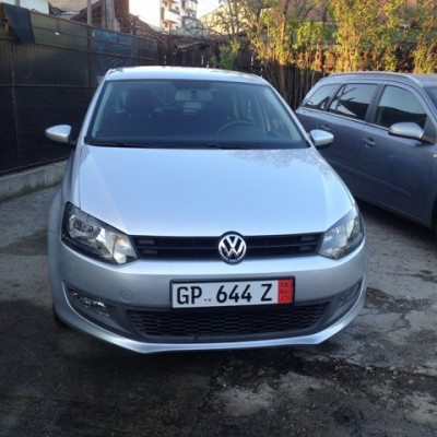 Vand VW POLO model BLUEMOTION fab. 2010, motorizare -  EURO 5 foto