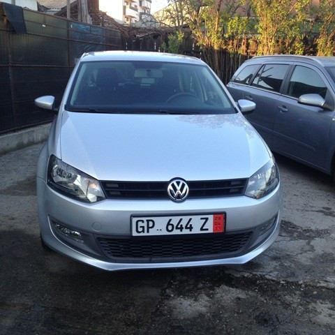 Vand VW POLO model BLUEMOTION fab. 2010, motorizare -  EURO 5 foto mare