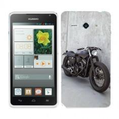 Husa Huawei Ascend Y530 Silicon Gel Tpu Model Motocicleta Vintage - Husa Telefon