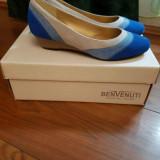 Pantofi - Pantof dama Benvenuti, Culoare: Albastru, Marime: 37