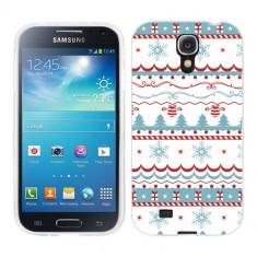 Husa Samsung Galaxy S4 i9500 i9505 Silicon Gel Tpu Model Model Craciun - Husa Telefon
