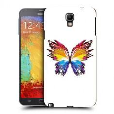 Husa Samsung Galaxy Note 3 Neo N7505 Silicon Gel Tpu Model Abstract Butterfly - Husa Telefon