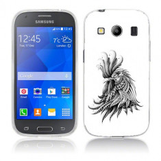 Husa Samsung Galaxy Ace 4 G357 Silicon Gel Tpu Model Cocos Abstract - Husa Telefon