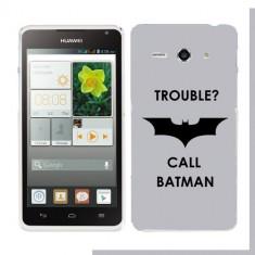 Husa Huawei Ascend Y530 Silicon Gel Tpu Model Batman - Husa Telefon