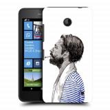Husa Nokia Lumia 635 630 Silicon Gel Tpu Model Abstract Man V1 - Husa Telefon