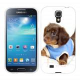 Husa Samsung Galaxy S4 i9500 i9505 Silicon Gel Tpu Model Brown Puppy