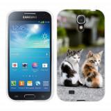 Husa Samsung Galaxy S4 i9500 i9505 Silicon Gel Tpu Model Kitties