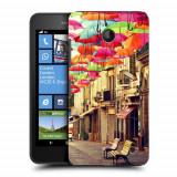 Husa Nokia Lumia 635 630 Silicon Gel Tpu Model Vintage Umbrella