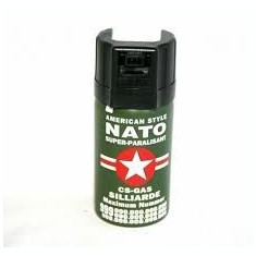Spray NATO, paralizant, autoaparare (caini, animale, hoti) - Spray paralizant