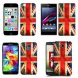 Husa Xiaomi Redmi Note 3 Silicon Gel Tpu Model UK Flag