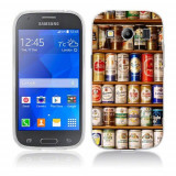 Husa Samsung Galaxy Ace 4 G357 Silicon Gel Tpu Model Beer Cans