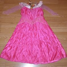 Costum carnaval serbare aurora pentru copii de 3-4-5 ani - Costum Halloween, Marime: Masura unica, Culoare: Din imagine