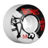 Set 4 roti skateboard Bones STF V1 Series 53mm