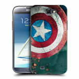 Husa Samsung Galaxy Note 2 N7100 Silicon Gel Tpu Model Captain America