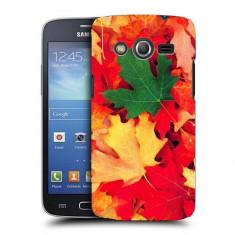Husa Samsung Galaxy Core 4G LTE G386F Silicon Gel Tpu Model Autumn Leaves - Husa Telefon