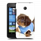 Husa Nokia Lumia 635 630 Silicon Gel Tpu Model Brown Puppy - Husa Telefon
