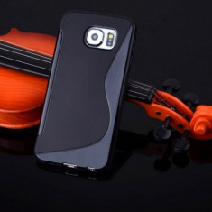 Husa Samsung Galaxy S6 G920 Silicon Gel Tpu S-Line Neagra - Husa Telefon