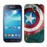 Husa Samsung Galaxy S4 i9500 i9505 Silicon Gel Tpu Model Captain America