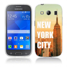 Husa Samsung Galaxy Ace 4 G357 Silicon Gel Tpu Model New York - Husa Telefon