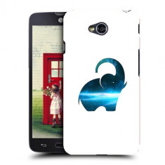 Husa LG L70 Silicon Gel Tpu Model Elefant Abstract - Husa Telefon
