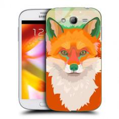 Husa Samsung Galaxy Grand Neo i9060 i9080 i9082 Silicon Gel Tpu Model Desen Vulpe - Husa Telefon