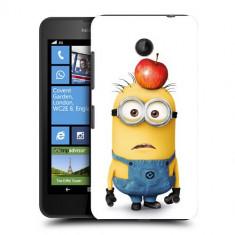 Husa Nokia Lumia 635 630 Silicon Gel Tpu Model Minions - Husa Telefon