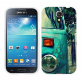 Husa Samsung Galaxy S4 i9500 i9505 Silicon Gel Tpu Model Vintage Car