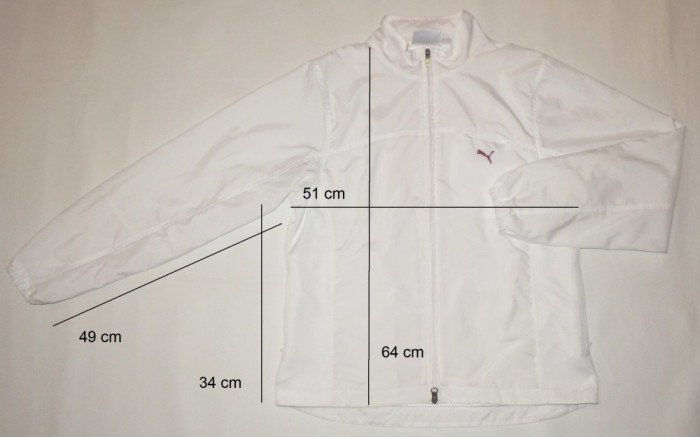 Bluza jacheta sport PUMA ca noua (dama L) cod-173737