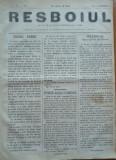 Ziarul Resboiul , nr. 103 , 1877 , gravura , Cavaleria rusa si turca la Plevna