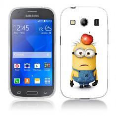 Husa Samsung Galaxy Ace 4 G357 Silicon Gel Tpu Model Minions - Husa Telefon