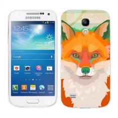Husa Samsung Galaxy S4 Mini i9190 i9195 Silicon Gel Tpu Model Desen Vulpe - Husa Telefon