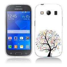 Husa Samsung Galaxy Ace 4 G357 Silicon Gel Tpu Model Music Tree - Husa Telefon