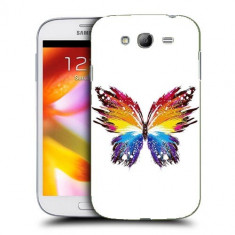 Husa Samsung Galaxy Grand Neo i9060 i9080 i9082 Silicon Gel Tpu Model Abstract Butterfly - Husa Telefon